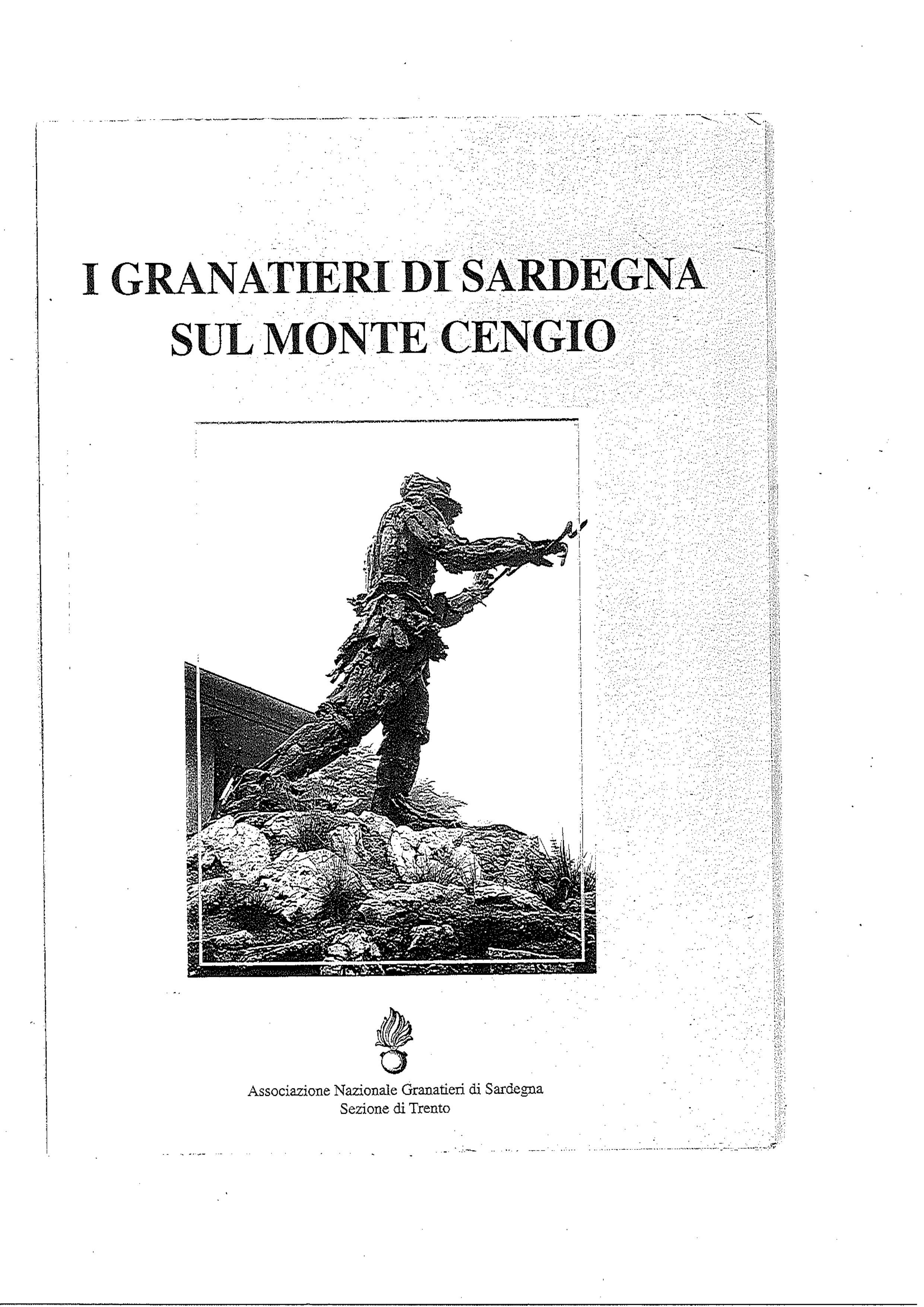 I Granatieri di Sardegna sul Monte Cengio