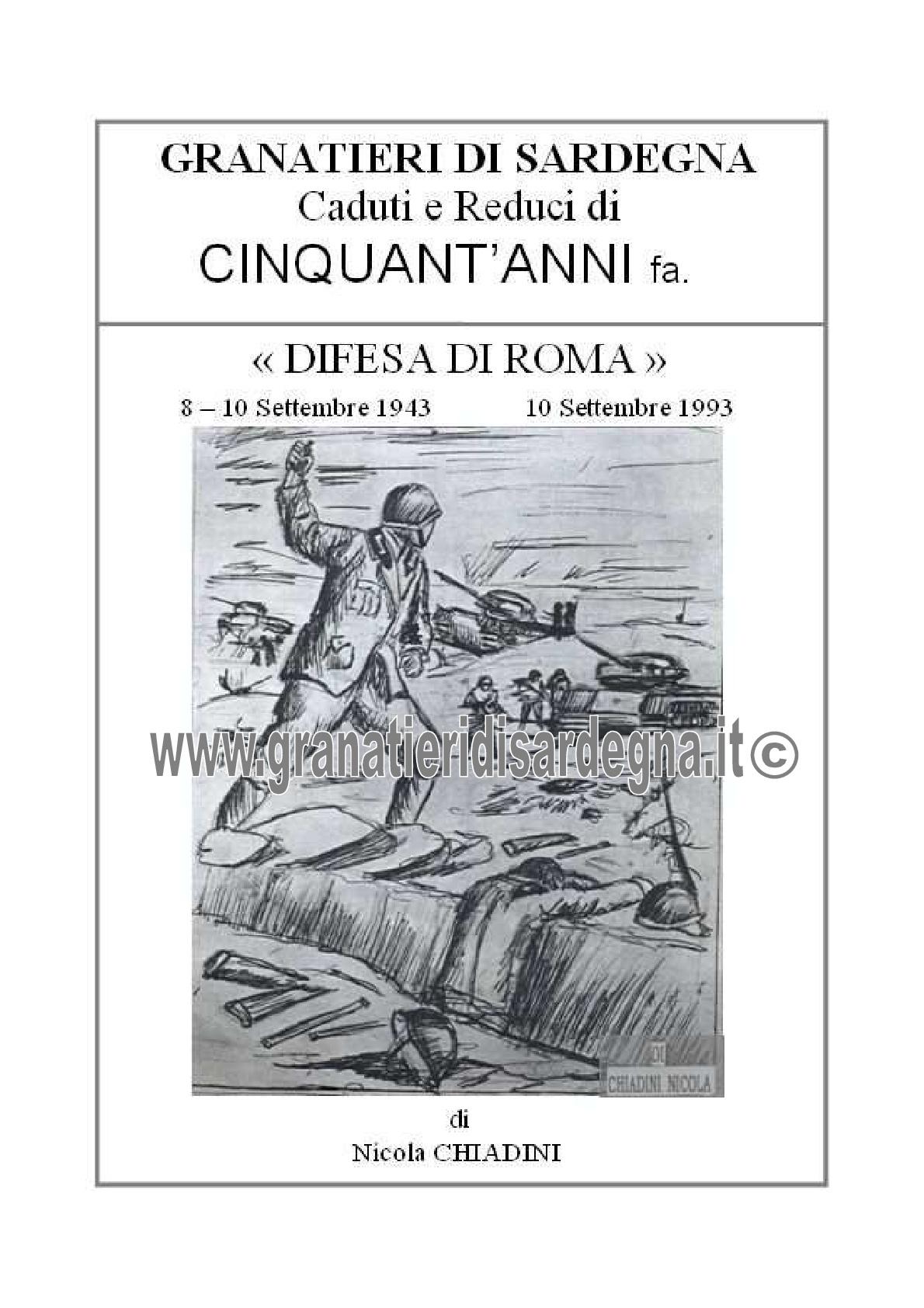50 anni fa Difesa di Roma