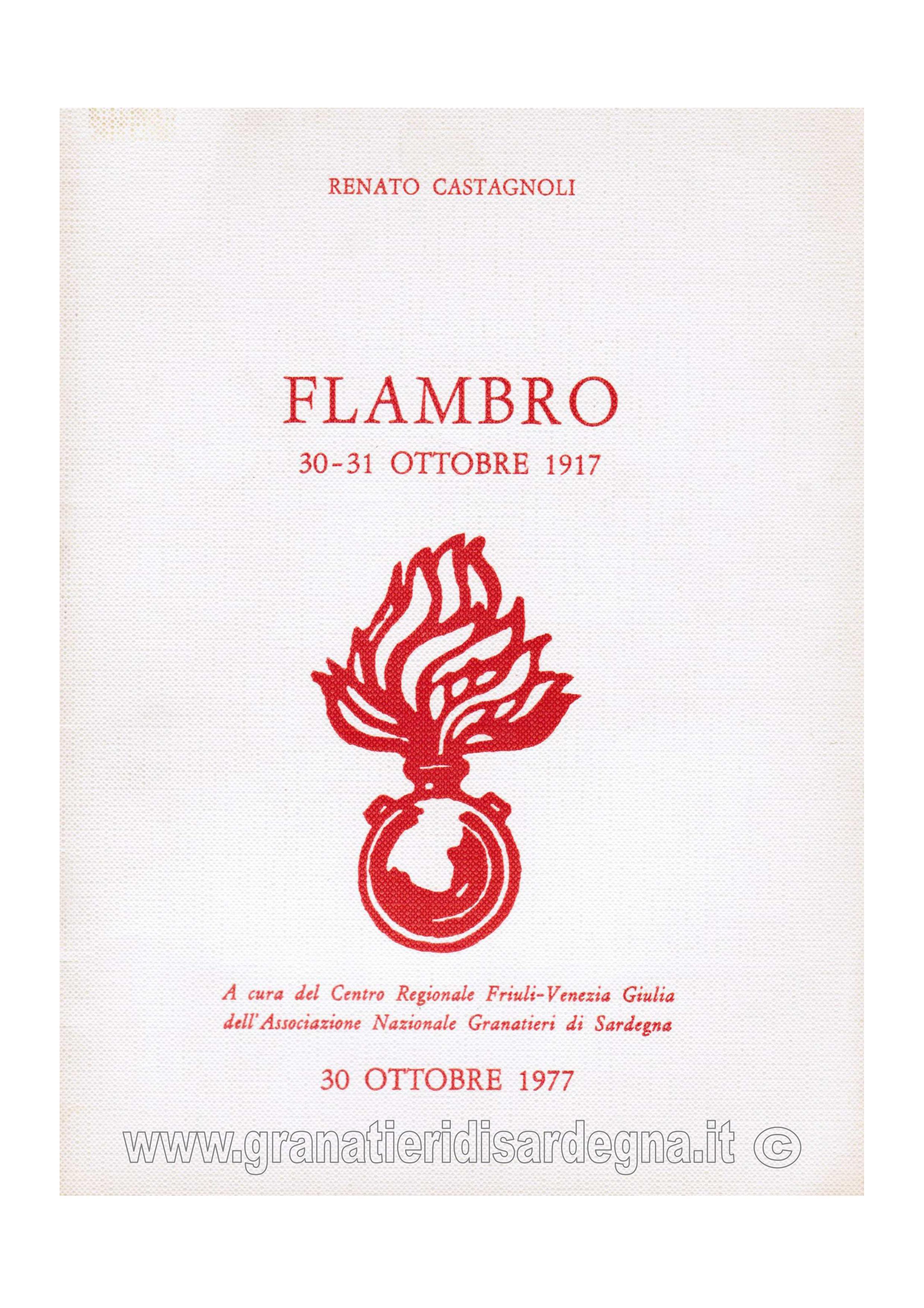 Flambro 30 - 31 ottobre 1917