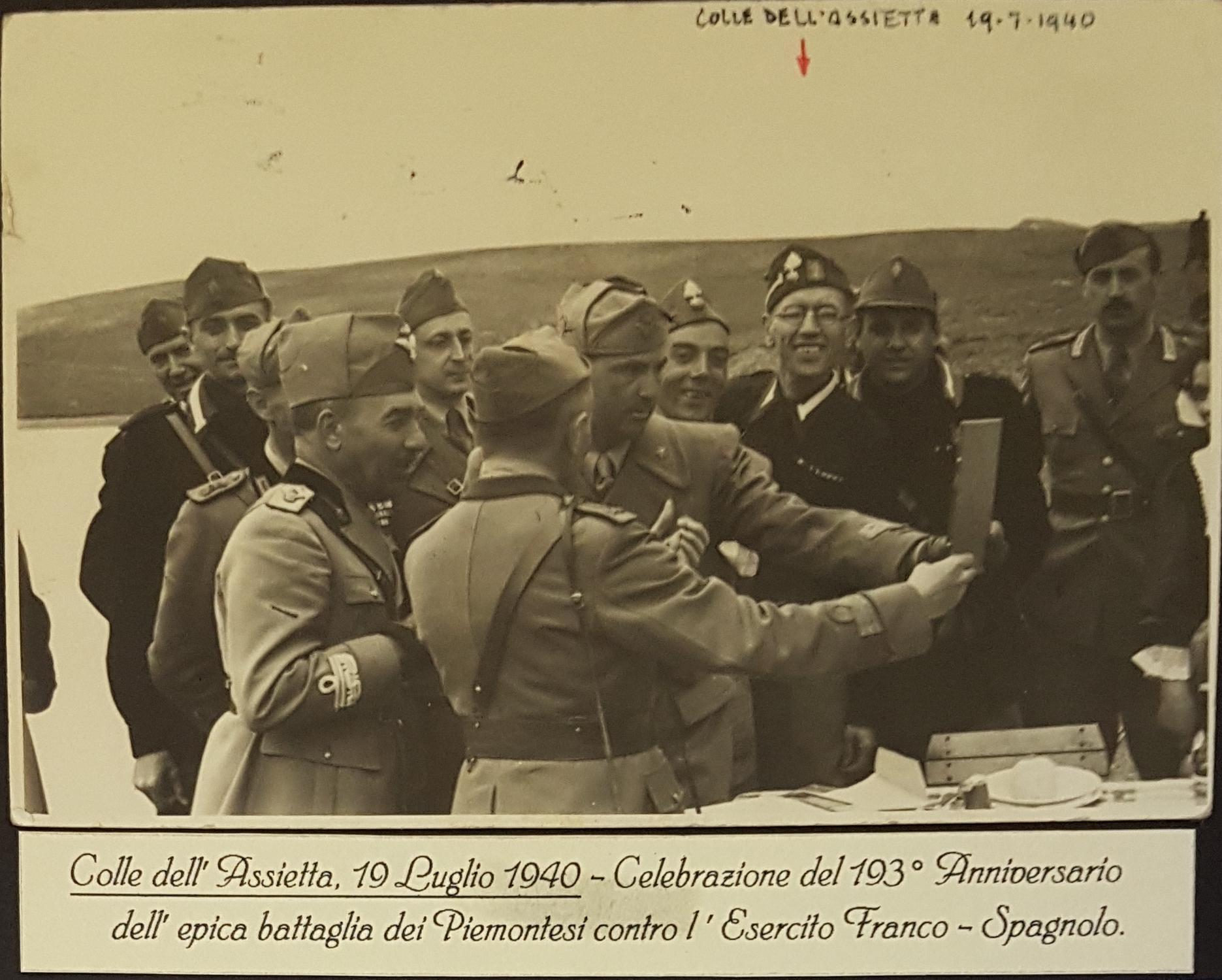 193°Anniversario battaglia dell'Assietta