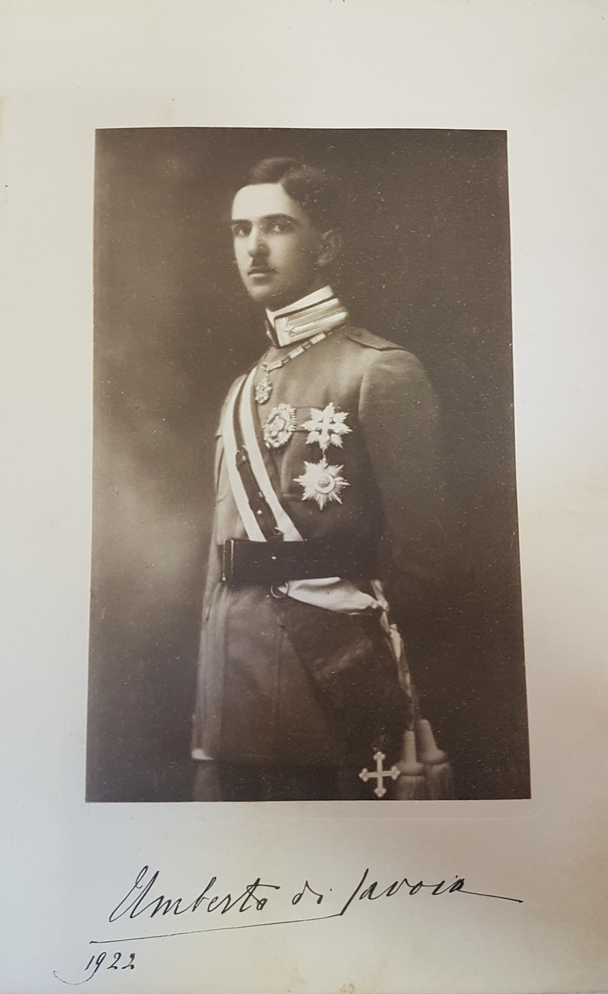S.A.R. il Principe Umberto - Ufficiale dei Granatieri