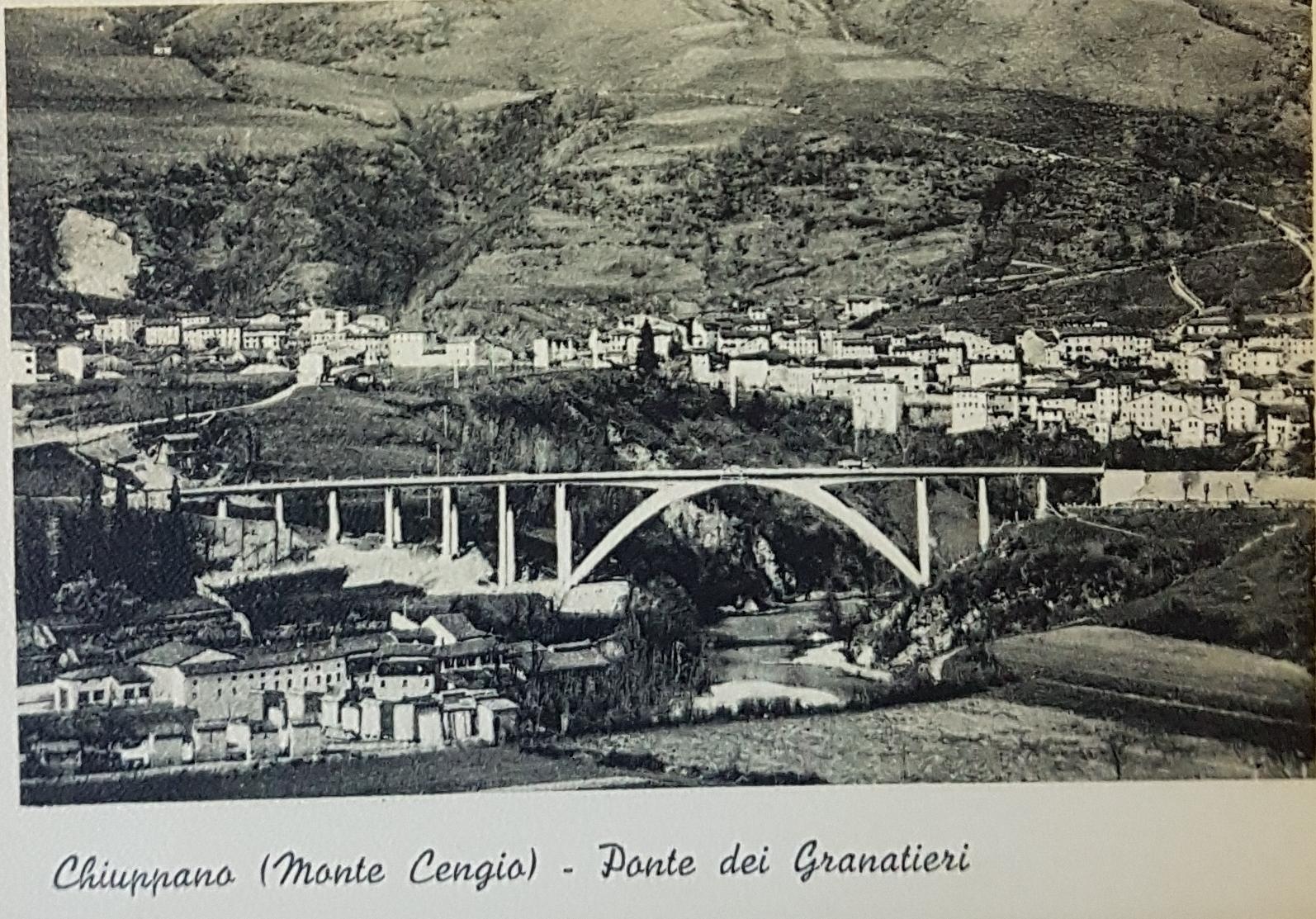 Chiuppano - Monte Cengio Ponte dei Granatieri