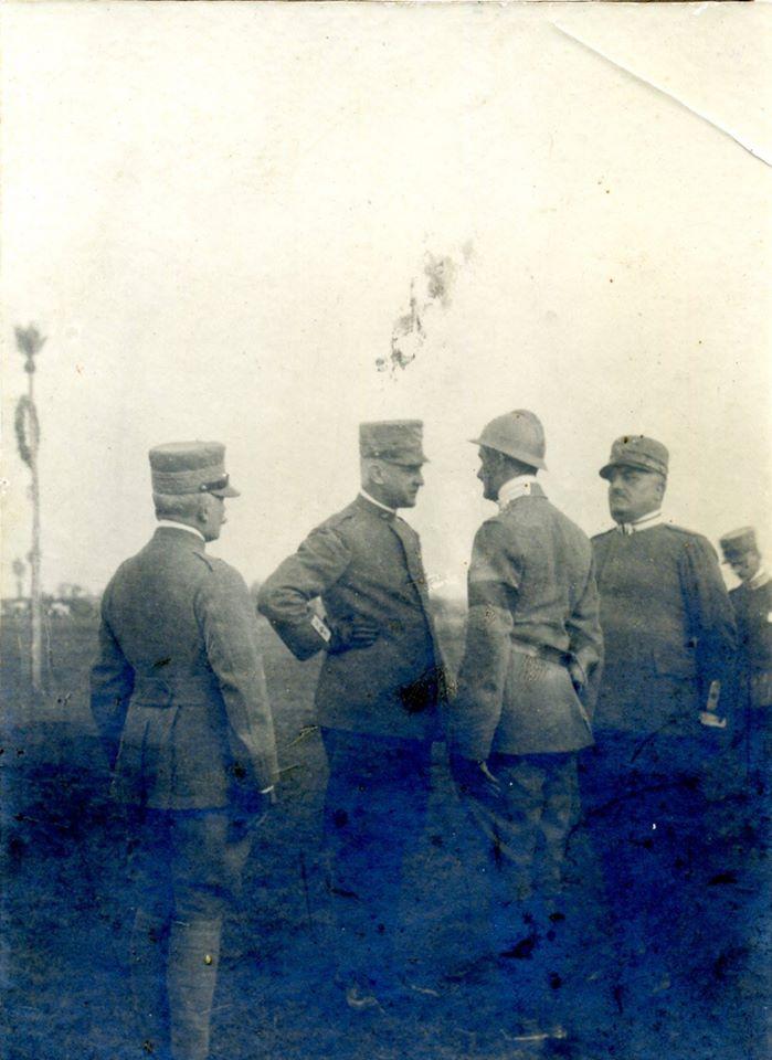 Gen. Pennella e il Duca D'Aosta