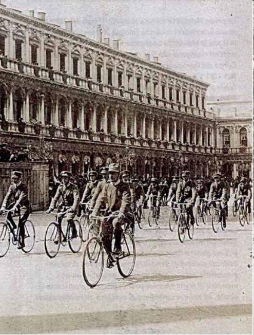 Granatieri a Trieste 1918
