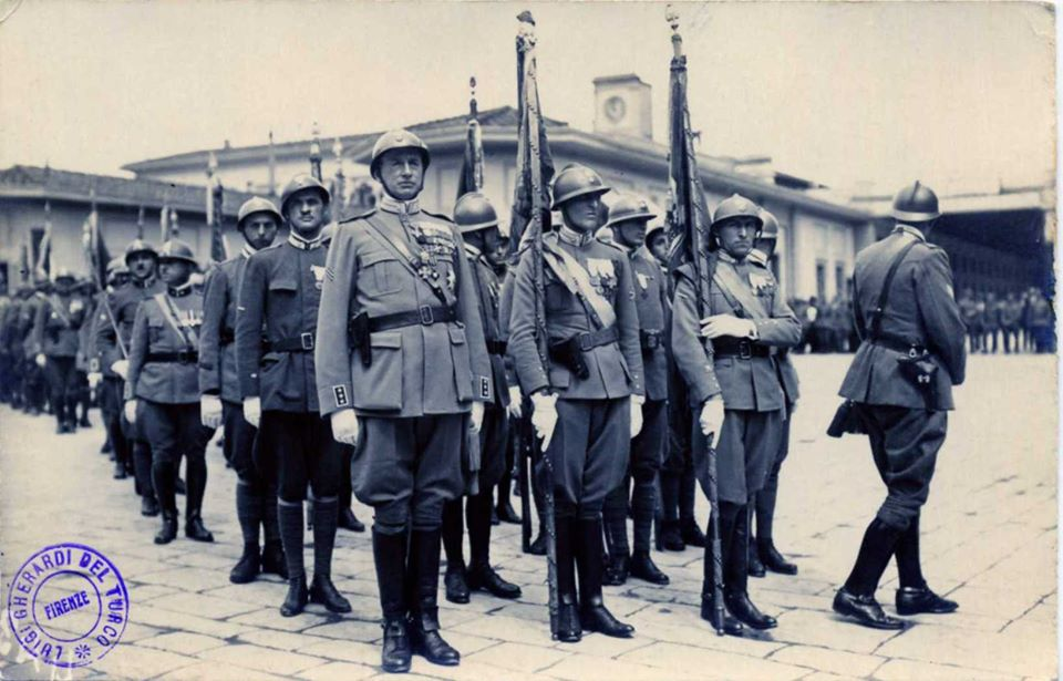 cerimonia funebre del Gen. Giuseppe Pennella in Firenze nel 1925