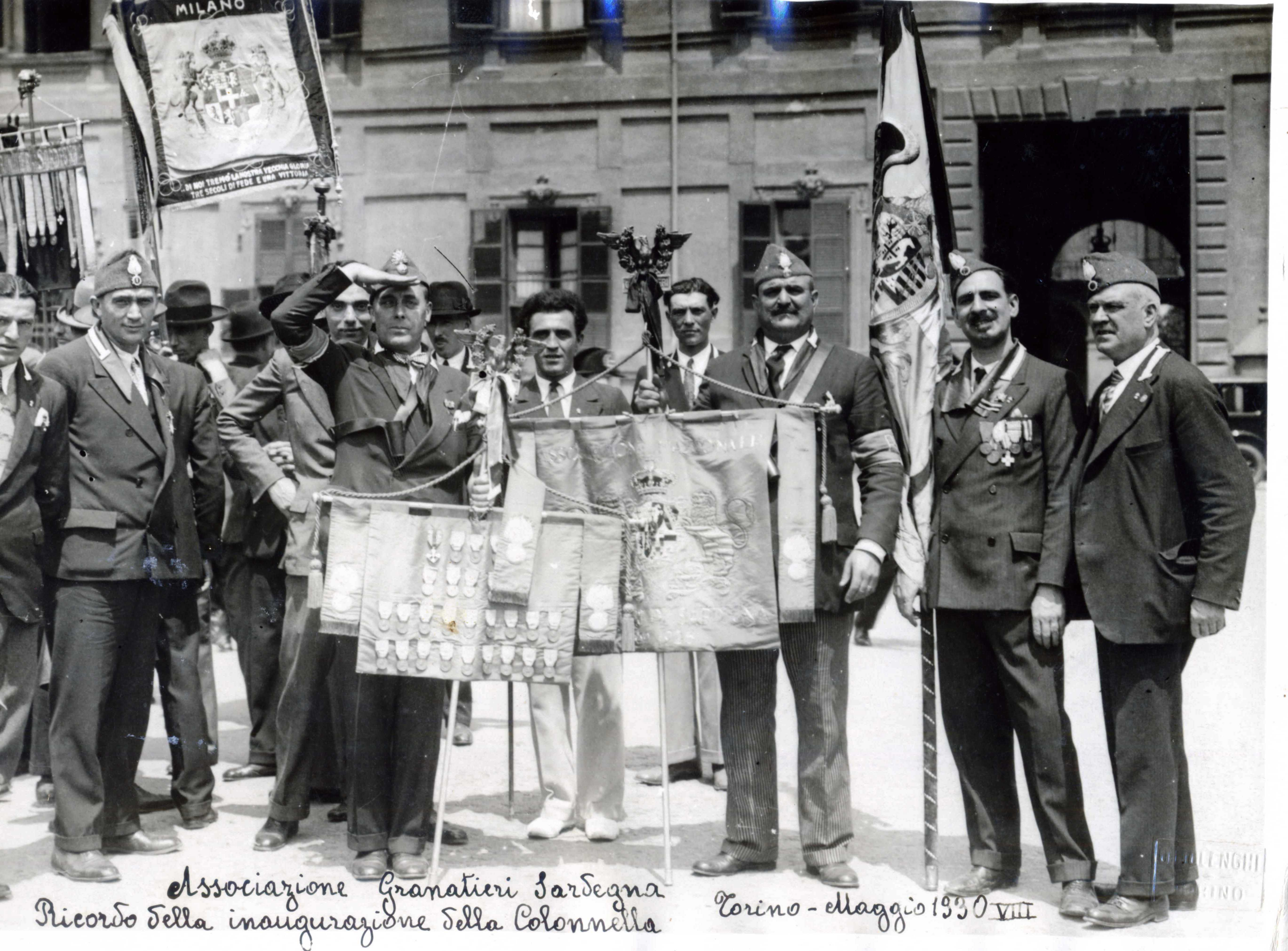 Inaugurazione Sezione Angs di Torino 1930