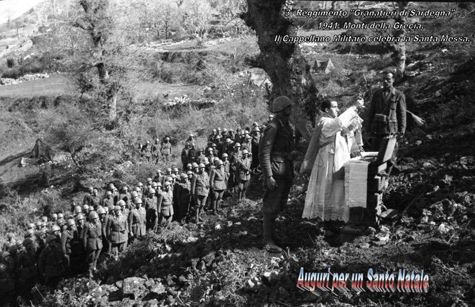 1941 FRONTE GRECO S. MESSA