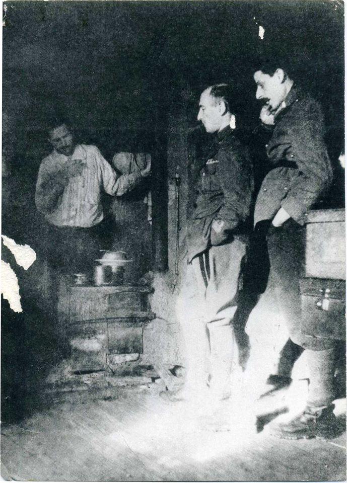 Ufficiali dei Granatieri campo concentramento Sandbostel 1944