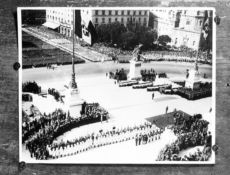 9 maggio 1937 Milite Ignoto nell'anniversario dell'Impero
