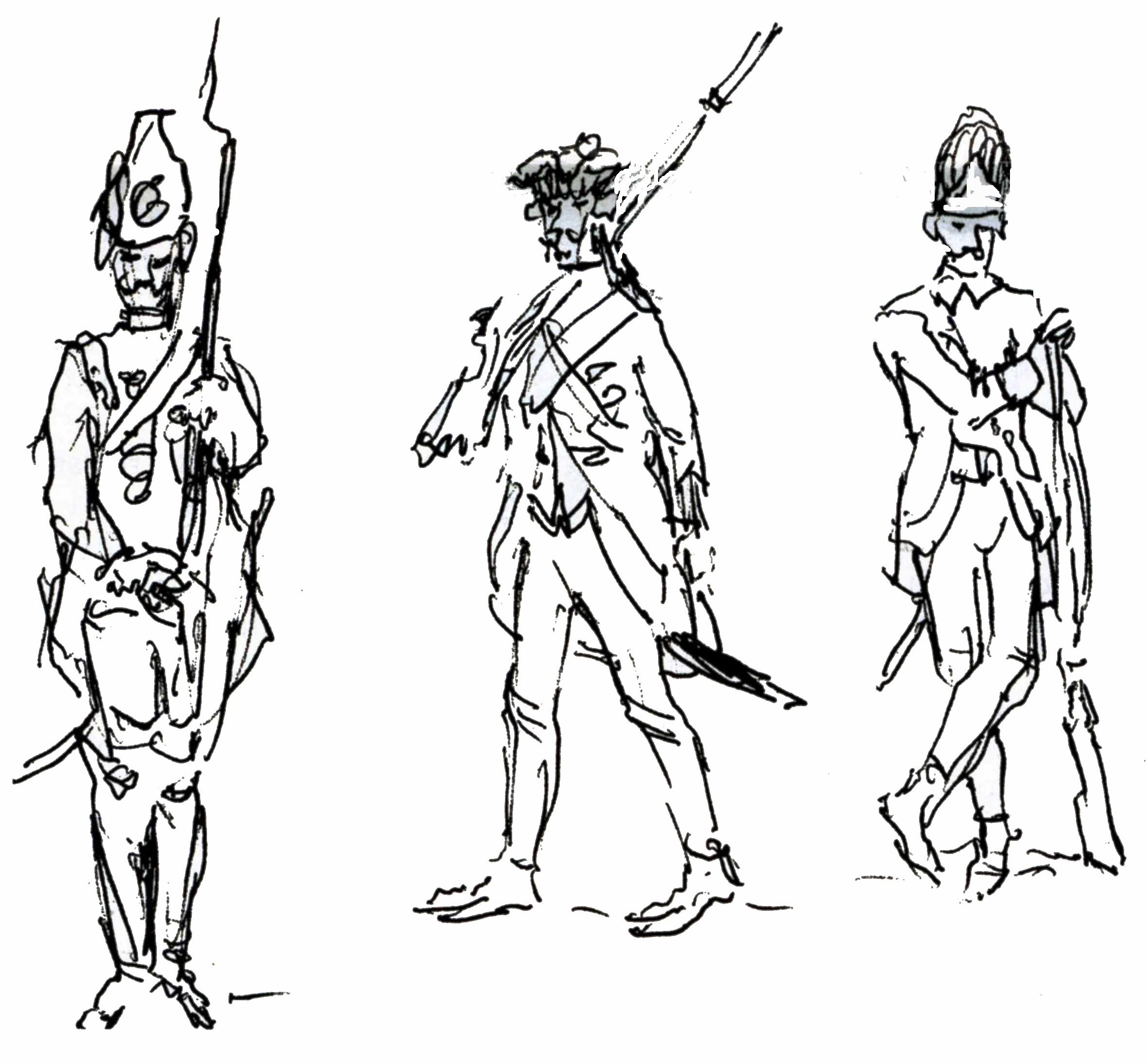 Granatieri del secolo XIX
